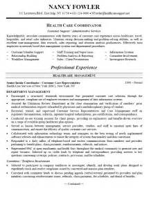 Resume Profile Exles Healthcare Administration Healthcare Resume Objective Sle Healthcare Resume Objective Sle Will Give Ideas And