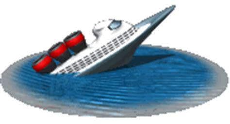 barco hundiendose animado gifs animados de barcos de crucero gifmania