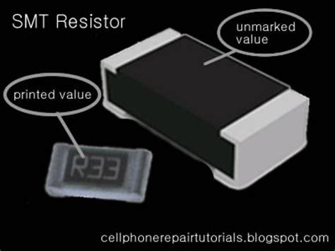 manufactured resistor values smt resistor free cellphone repair tutorials