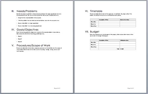 20 Free Project Proposal Template Ms Word Pdf Docx Microsoft Word Rfp Template