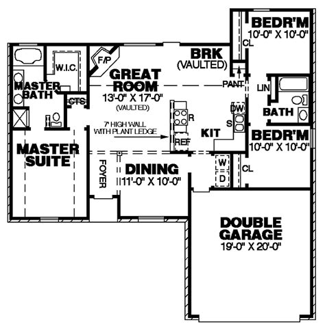 Small Footprint House Plans