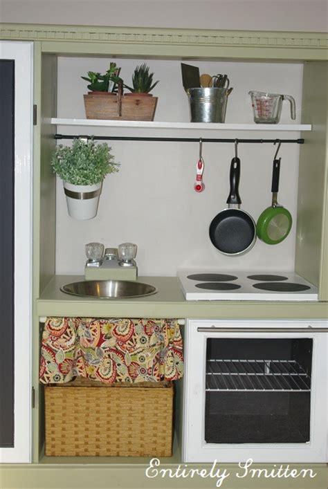 Diy Kitchen Set by Diy Play Kitchen Set For Hack Entirely Smitten