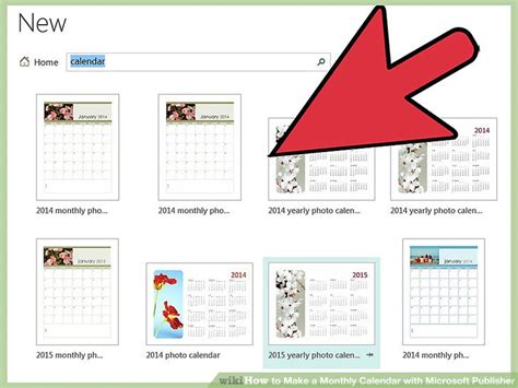 how to make calendar for how to make a monthly calendar with microsoft publisher
