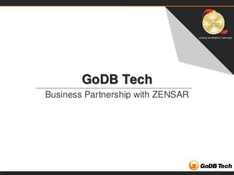 email zensar presentation by godb tech to zensar techshowcase an