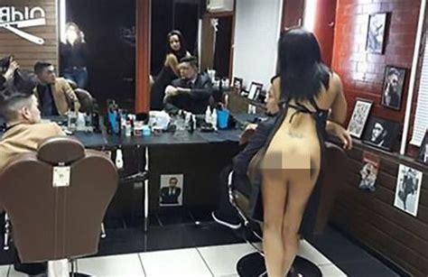 Sepatu Wanita Cewek Pantopel Hak Tahu Tb37 Hitam 5 foto pegawai cewek cantik bohay salon plus barber shop