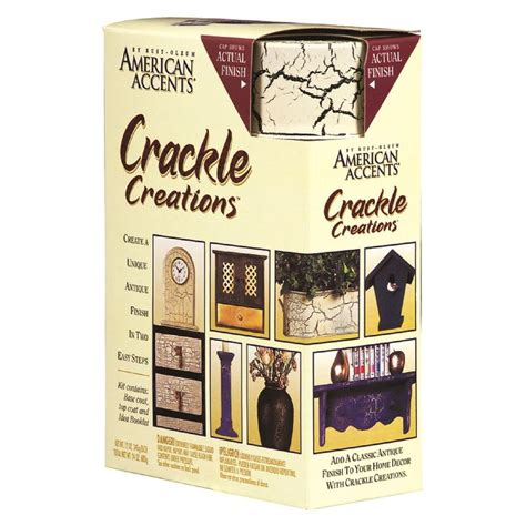 crackle paint home depot rust oleum american accents antiqued ivory crackle