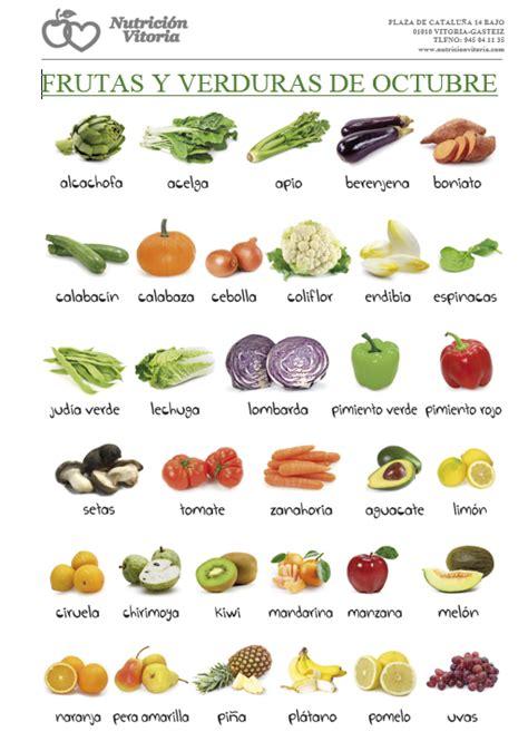 frutas y verduras calendarios de frutas y verduras de temporada nutrici 243 n