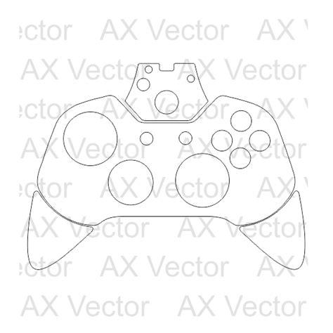 xbox controller skin template xbox one controller vector template
