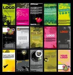grunge business card templates
