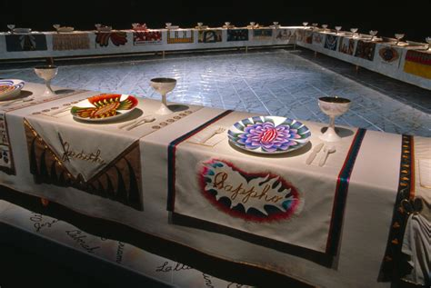 judy chicago dinner selected work 171 judy chicago