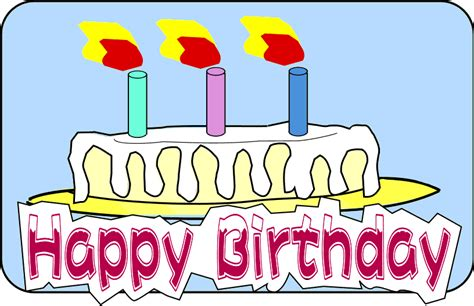free happy clip free animated happy birthday clipart clipartxtras