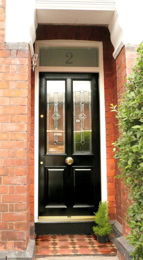 Exterior Door Furniture Grand Derby Leaded Front Door Jet Black For Brass Door Furniture Click Below Http