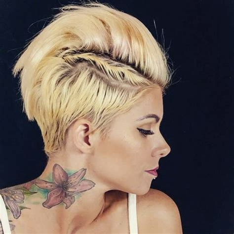 can women with a mahawk hair xut put weave in hair sizzling mohawk hairstyles that will add spice to your look
