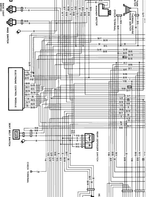 wiring diagram   suzuki samurai