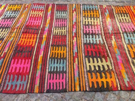 Bright Kilim Rugs by Modern Bohemian Kilim Rug Vintage Kilim Rug Decorative