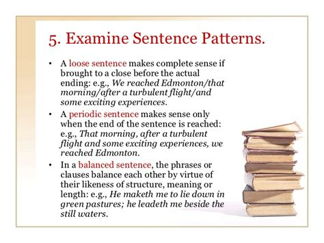 sentence pattern periodic using didls to analyze tone in fiction