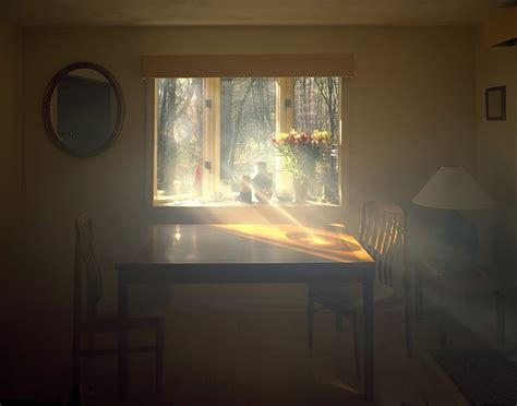 lights in windows visible light photos of dense sunlight through