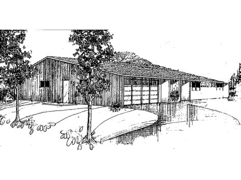 Low Pitch Roof Home Plans Low Pitch Roof House Plans