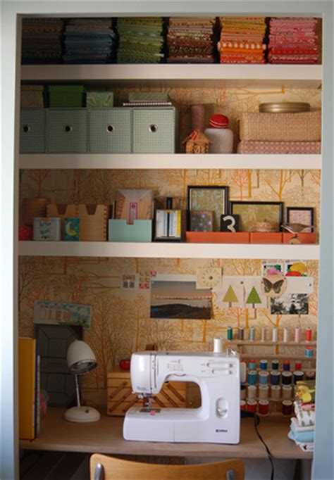 Sewing Closet Ideas by Organizing Your Sewing Space Small Spaces Whipstitch