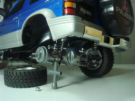 Hopup Parts Aloy Chasis Rail Tamiya Cr01 For Rc Adventure tamiya cc 01 pajero what tyres wheels and hopups