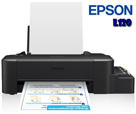Tinta Isi Ulang Printer Epson L120 spesifikasi review harga printer epson l120 printkita