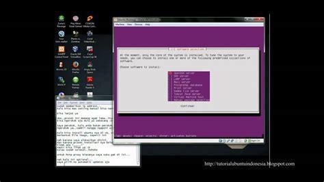 installing ubuntu server youtube cara install ubuntu server di virtualbox youtube