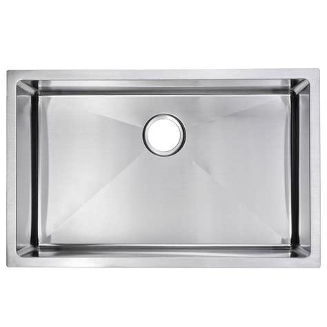 small kitchen sinks stainless steel water creation undermount small radius stainless steel