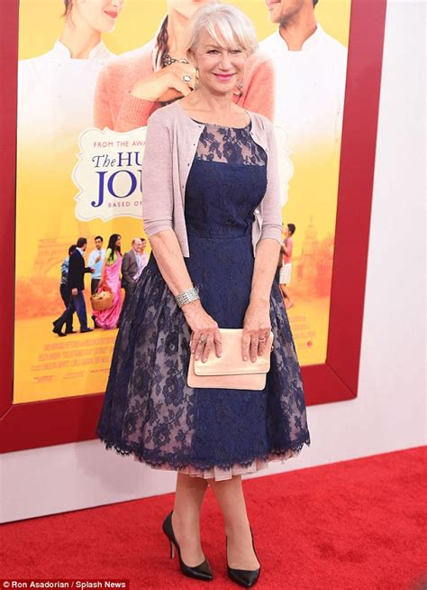 Helen Mirren mystifies at The Hundred Foot Journey premiere with Oprah Winfrey   Daily Mail Online