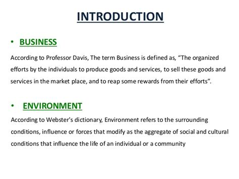 Business And Environment Notes For Mba by Business Environment Scanning Its Need And Techniques Mba