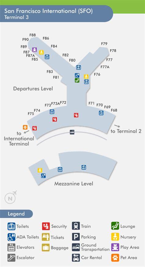 san francisco airport map united san francisco airport united terminal map quotes