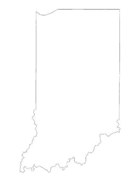 template of state indiana map template 8 free templates in pdf word excel