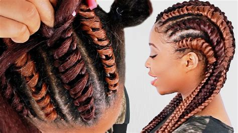 gule in hair style for black beginners how to tree braid cornrows for beginners step by step