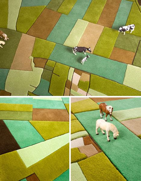 Aerial Area Rug Land Carpet Is A Modular Rug With Aerial View Designs