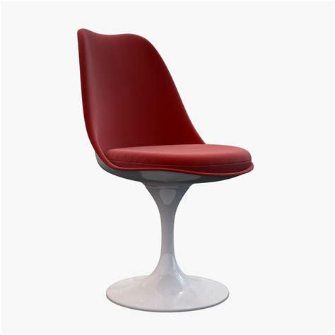 Knoll Tulip Chair by 3d Tulip Chair Knoll Model