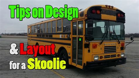 How To Make A House Plan by Designing A Layout For A Skoolie Bus Conversion