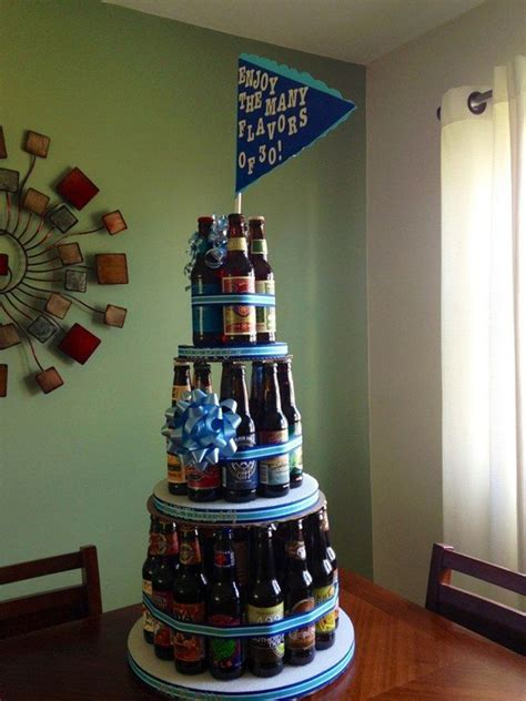 Happy Birthday Craft Beer Cake