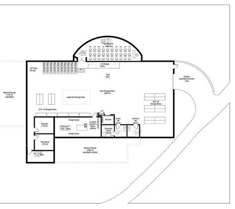 stage floor plan kevin cowan architects theatres stage basement floor