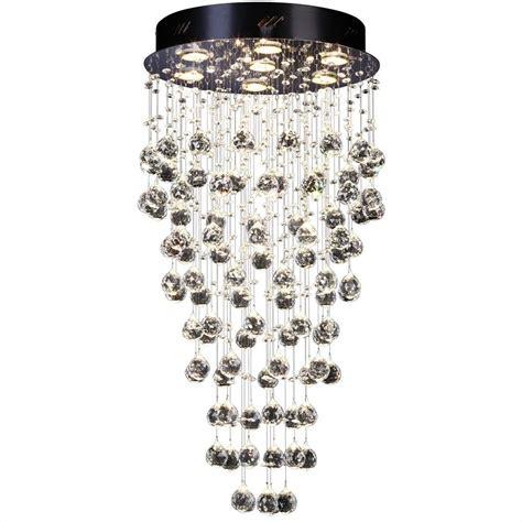 kristall deckenleuchte s luce kristall deckenleuchte mit ca 300 glaskristallen