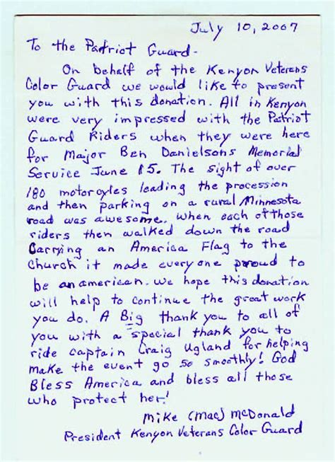 thank you letter to christian friend thank you letters