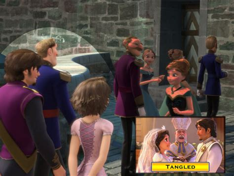 film theory elsa and rapunzel rapunzel and flynn cameo frozen 2013 easter eggs