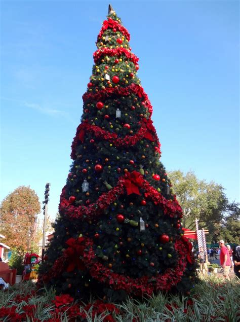 walt disney world christmas trees lady in violetlady