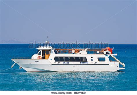 glass bottom boat es castell glass bottomed boat stock photos glass bottomed boat