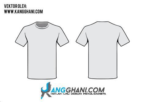 download template desain kaos distro gratis desain baju distro polos depan belakang template desain