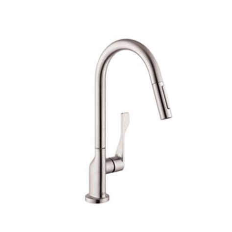 hansgrohe 39835801 axor citterio kitchen faucet with 2