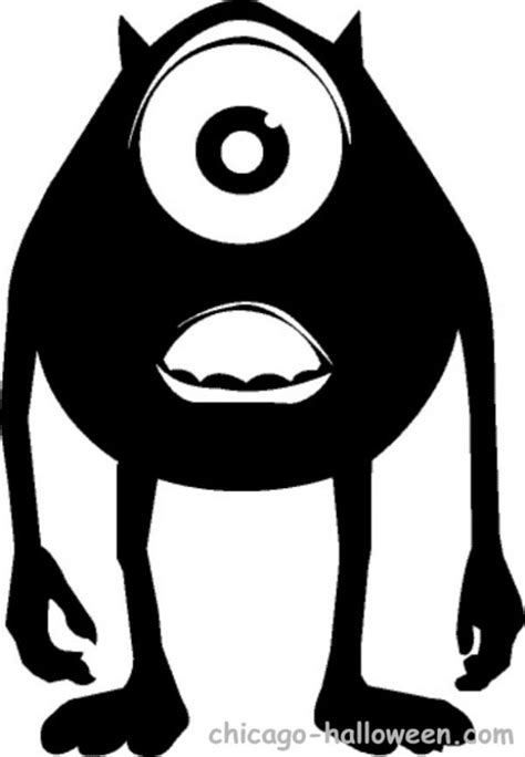 mike wazowski pumpkin template photo mike wazowski pumpkin stencil