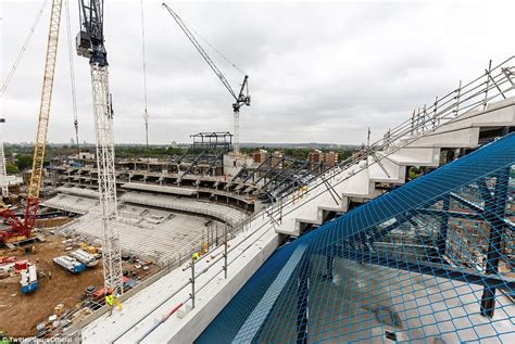incredible incentives being offered on new construction in tottenham reveal latest images of stadium build daily