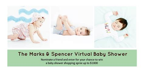 Marks Shower by Go Ask Win A Marks Spencer Baby Shower