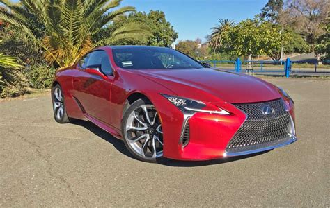 lexus rsf 2018 lexus lc500 great visual drama weighs more than nx
