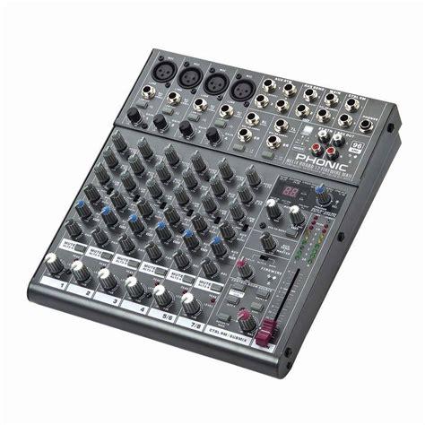Mixer Audio Phonic phonic helix board 12 universal firewire mixer