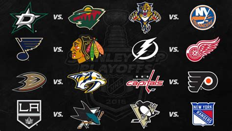 Calendrier Lnh 2015 16 Canadiens 2016 Nhl Stanley Cup Playoff Pool Picks